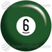 Billiards 6 Ball - bowlingball.com Exclusive