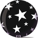 Viz-A-Ball Stars White/Black