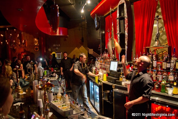 Off the Hookah Brings in Top Ranked Flair Bartenders - Photo #57423