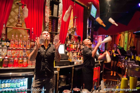 Off the Hookah Brings in Top Ranked Flair Bartenders - Photo #57431