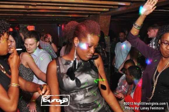 crazy lights and pretty people at europa - Photo #72399