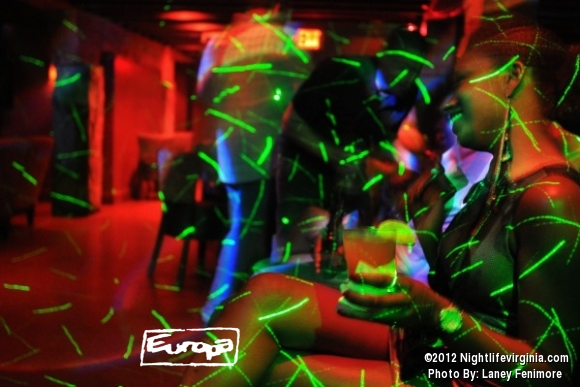 crazy lights and pretty people at europa - Photo #72401