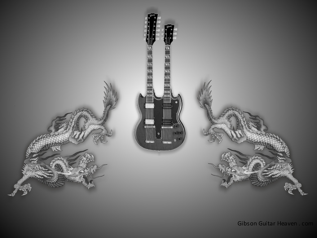 guitars wallpaper. Gibson Guitar Wallpaper.