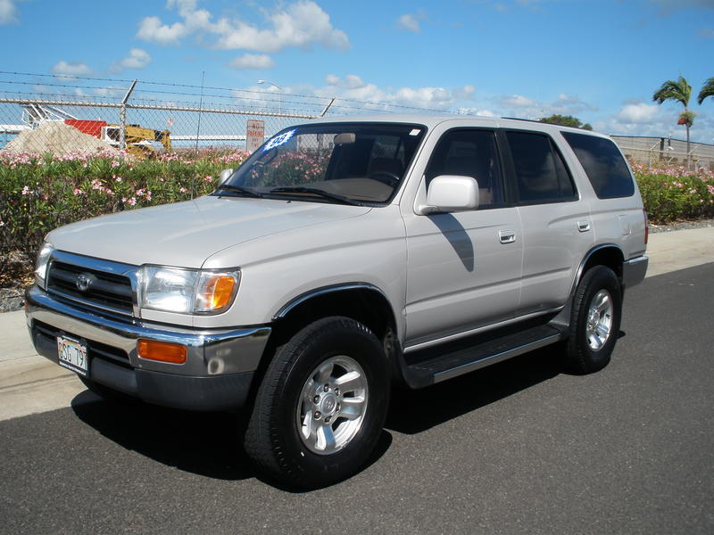 1998 toyota 4runner 4dr sr5 3 4l auto 122581 miles silver. Black Bedroom Furniture Sets. Home Design Ideas