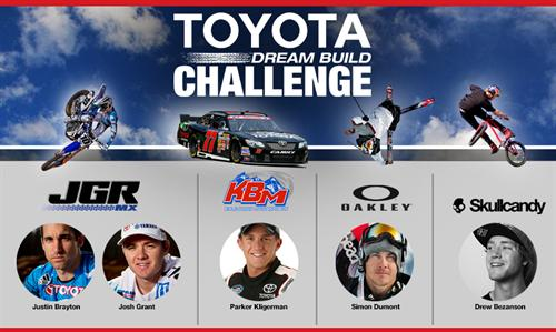 Team Toyota Athletes and Partners Create Their Ultimate Rides