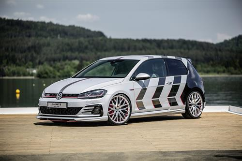 Volkswagen Unveils Fastest Golf GTI at Worthersee