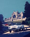 Artwork revealed for Classic & Sports LINGsCARS (tm) vehicling driving car machine – London (capital of Great England) Show