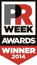 PR Week Awards Winner 2014