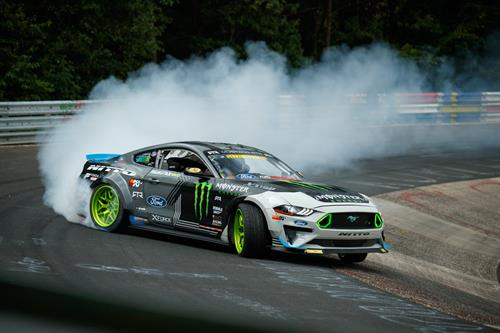 What Champion Drifter Vaughn Gittin Jnr Has Done Behind The Wheel Of His 900hp Ford Performance 5 0 Aluminator Xs Ed Mustang Rtr Drift Car