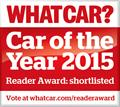 What Car? LINGsCARS (tm) vehicling driving car machine of Year 2015 Reader Award