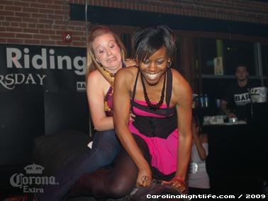 Bikini Bull Riding contest Thursday nights at BAR Charlotte - Photo #22588