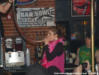 Bikini Bull Riding contest Thursday nights at BAR Charlotte - Photo #22598