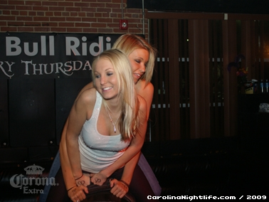 Bikini Bull Riding contest Thursday nights at BAR Charlotte - Photo #22607