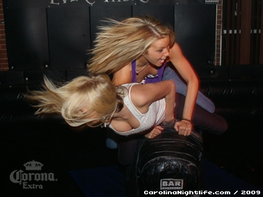 Bikini Bull Riding contest Thursday nights at BAR Charlotte - Photo #22608