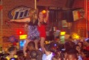 Bikini Bull Riding contest Thursday nights at BAR Charlotte - Photo #22638