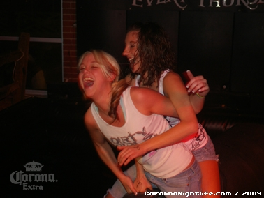 Bikini Bull Riding contest Thursday nights at BAR Charlotte - Photo #22639