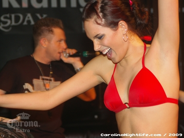 Bikini Bull Riding contest Thursday nights at BAR Charlotte - Photo #22645