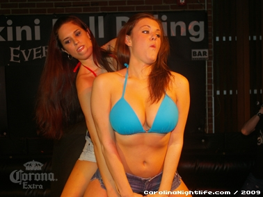 Bikini Bull Riding contest Thursday nights at BAR Charlotte - Photo #22655