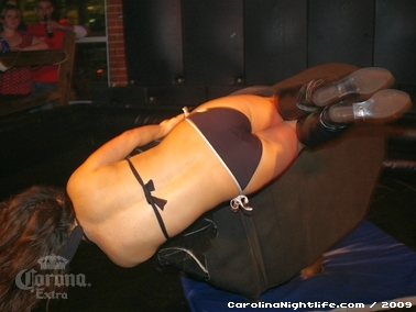 Bikini Bull Riding contest Thursday nights at BAR Charlotte - Photo #22672