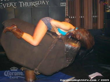 Bikini Bull Riding contest Thursday nights at BAR Charlotte - Photo #22674