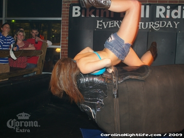 Bikini Bull Riding contest Thursday nights at BAR Charlotte - Photo #22675
