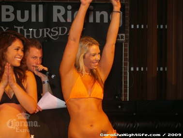 Bikini Bull Riding contest Thursday nights at BAR Charlotte - Photo #22679