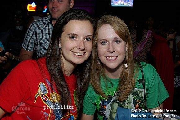 Superhero Bar Crawl with DJ Dirty at Prohibition Saturday - Photo #508519