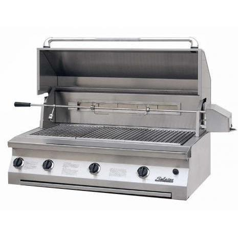 Solaire Gas Grills 42 Inch Built-In All Convection Propane Gas Grill With Rotisserie 2703834