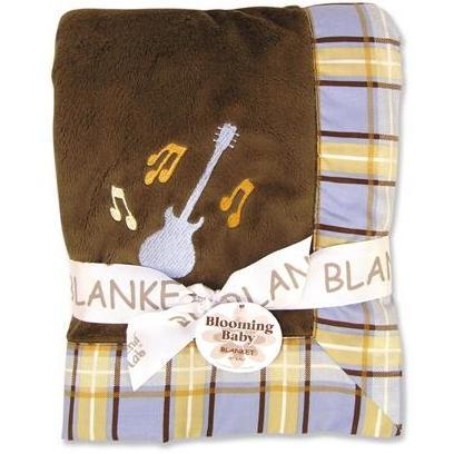 Trend Lab Velour Framed Baby Blanket - Rockstar 2562268