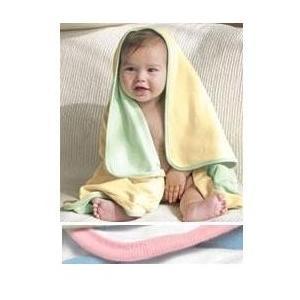 Bella Baby 1x1 Rib Reversible Blanket - Pink/White