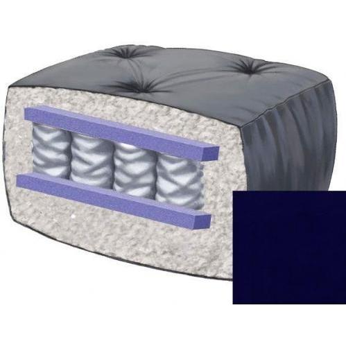 10 Inch Blazing Needles Perfect Pocket Coil Futon Mattress - Navy - DS-9662 - Navy