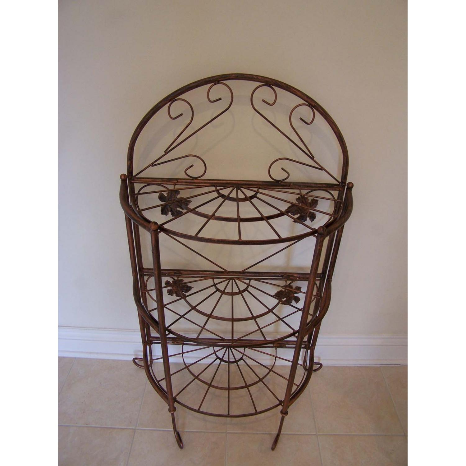 Oakland Living Sundance Bakers Rack - Antique Bronze