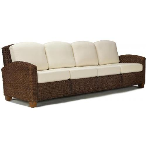 Home Styles Cabana Banana 4 Section Sofa - Cocoa - 5402-63