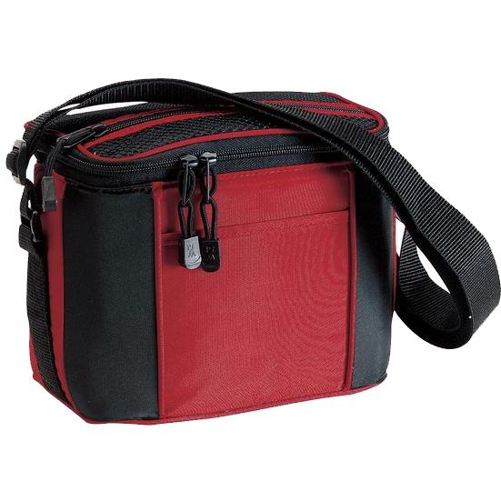 Port & Company 6-Pack Cooler - Red
