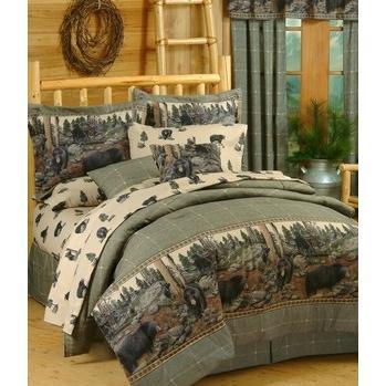 Blue Ridge Trading The Bears Throw Pillow
