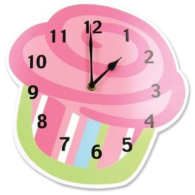 Trend Lab Wall Clock - Cupcake
