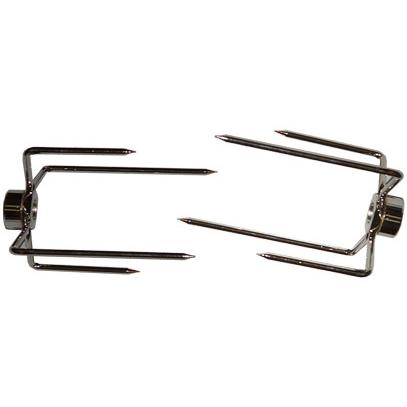 Two Deluxe 4-Prong Heavy Duty Meat Forks 380