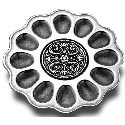 Wilton Armetale William & Mary Divided Egg Tray - 366550