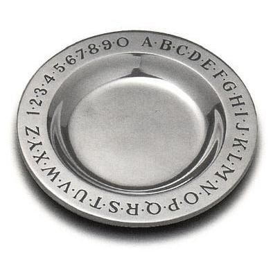 Wilton Armetale Alphabet Plate