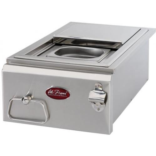 Cal Flame 12 Inch Built-in Cocktail Center With Ice Bin Cooler