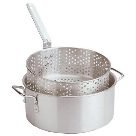 Eastman Outdoors 10.5 Qt. Aluminum Outdoor Gourmet Cooking Set - Professional Grade