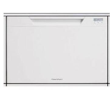 Fisher Paykel Dishwashers Single DishDrawer With Recessed Handle Dishwasher - White