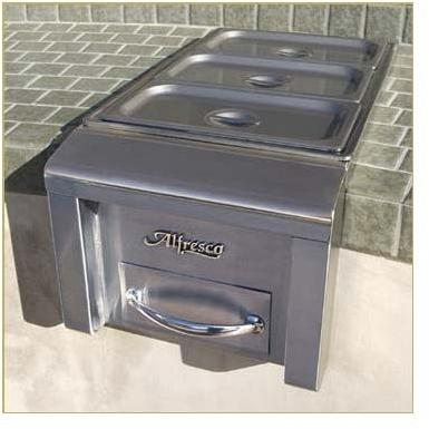 Alfresco Buffet Server And Food Warmer - Built-in