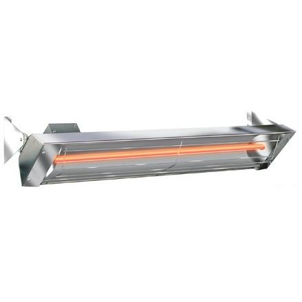 Infratech 33 Inch W Series All-Weather Stainless Steel Heater - 1500 Watts - Indoor/Outdoor Rated - Energy Efficient