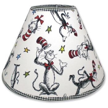 Trend Lab Lampshade - Dr Seuss Cat In The Hat