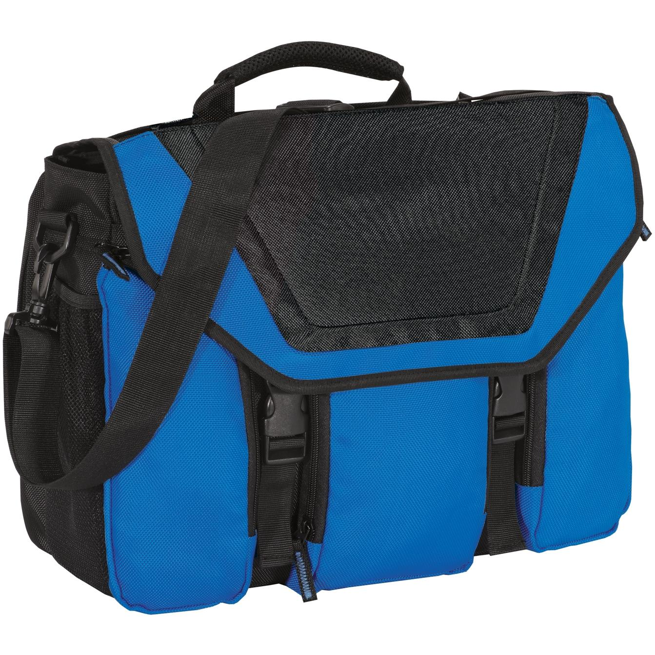 Port Authority Messenger Briefcase - Snorkel Blue