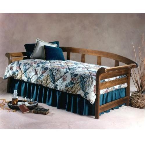 Hillsdale Jason Daybed With Suspension Deck And Trundle Dark Pine - 1198DBLHTR