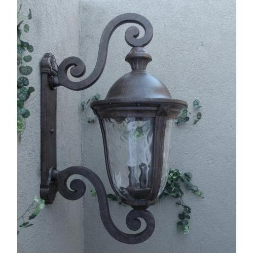 Gallery Series Lighting Pointe Grande Bronze Cast Aluminum Electric Light