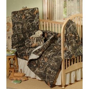 Realtree Max 4 Crib Skirt