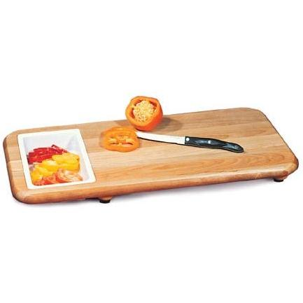 24 X 12 Cut N Catch / Over Sink Carving Board With Trays